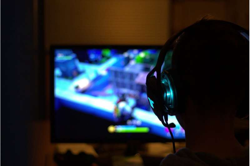 Boys who play video games have lower depression risk
